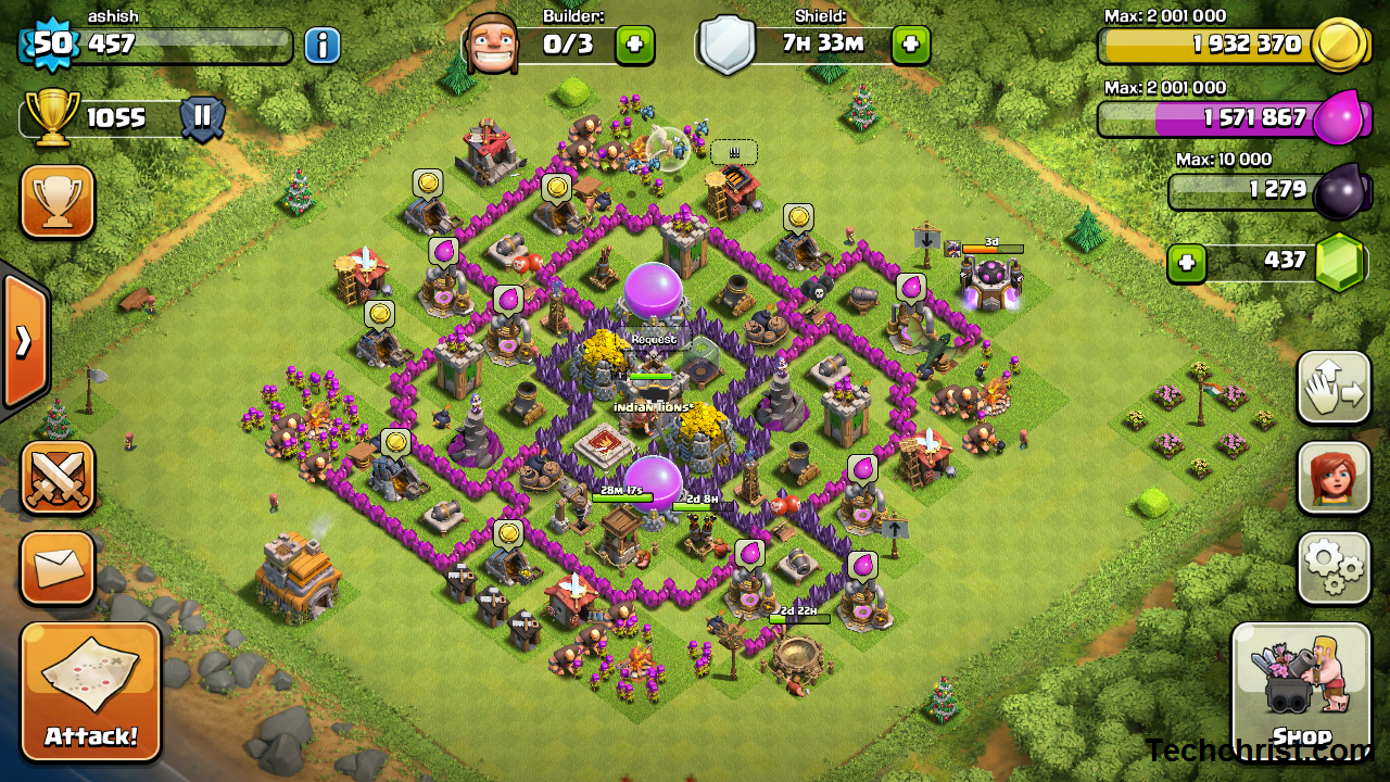 Clash of Clans for PC – Android/Windows/Mac/iOS