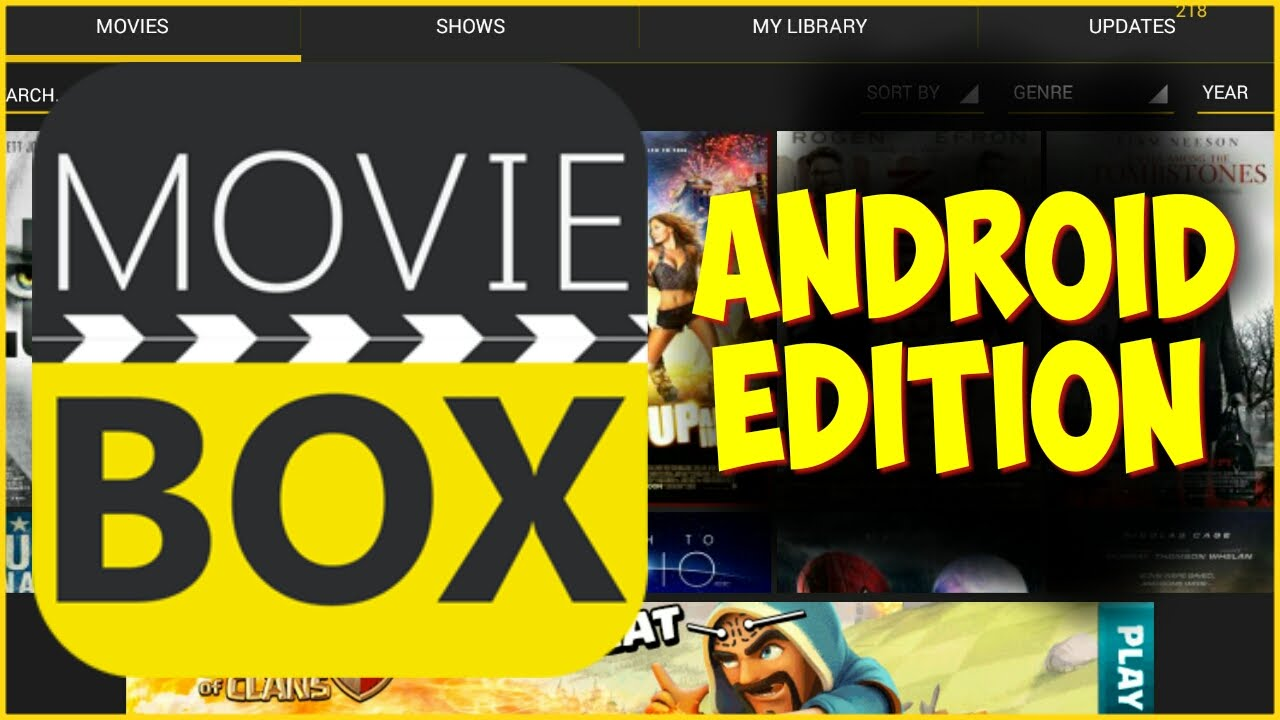 Moviebox for Android – PC/Mac/iOS/Windows/Computer