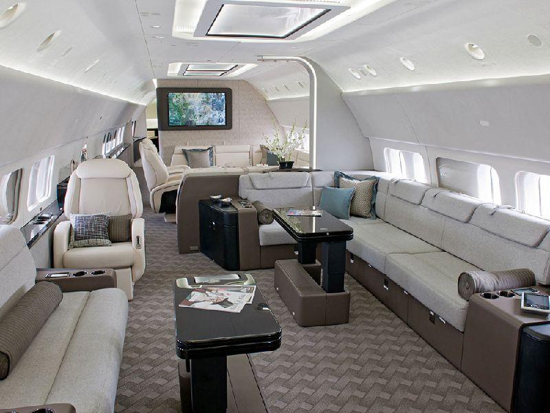 737 BBJ Interior and Exterior Photos K65613-02