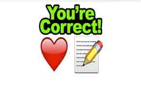 A heart emoji + a pen emoji = love letter