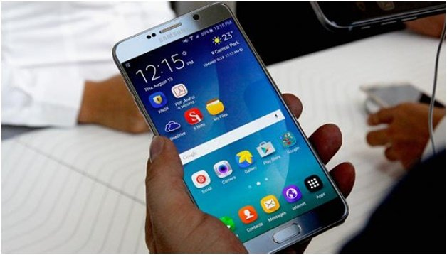 How to unlock your Samsung Galaxy Note 7 1
