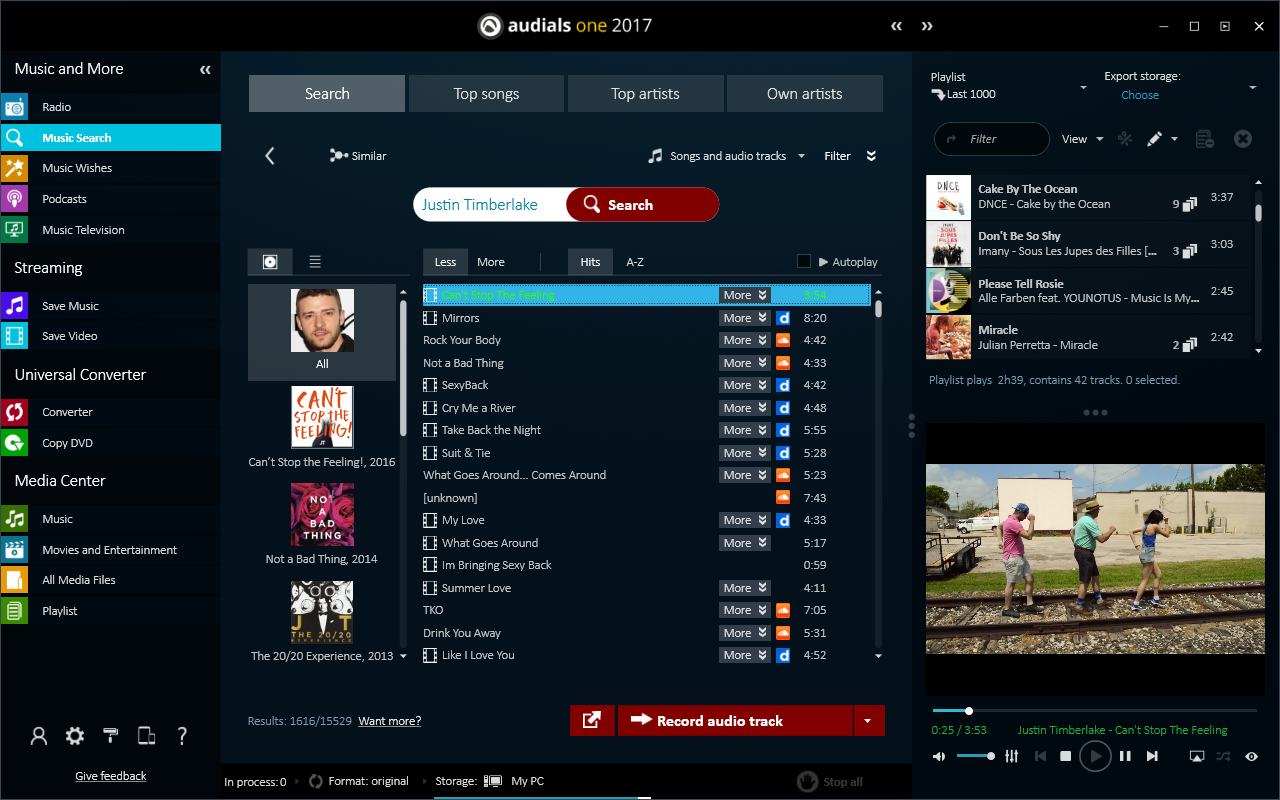 audials-music-search