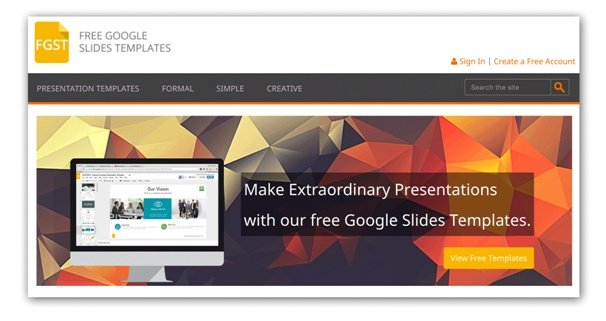 create powerpoint template online free gallery