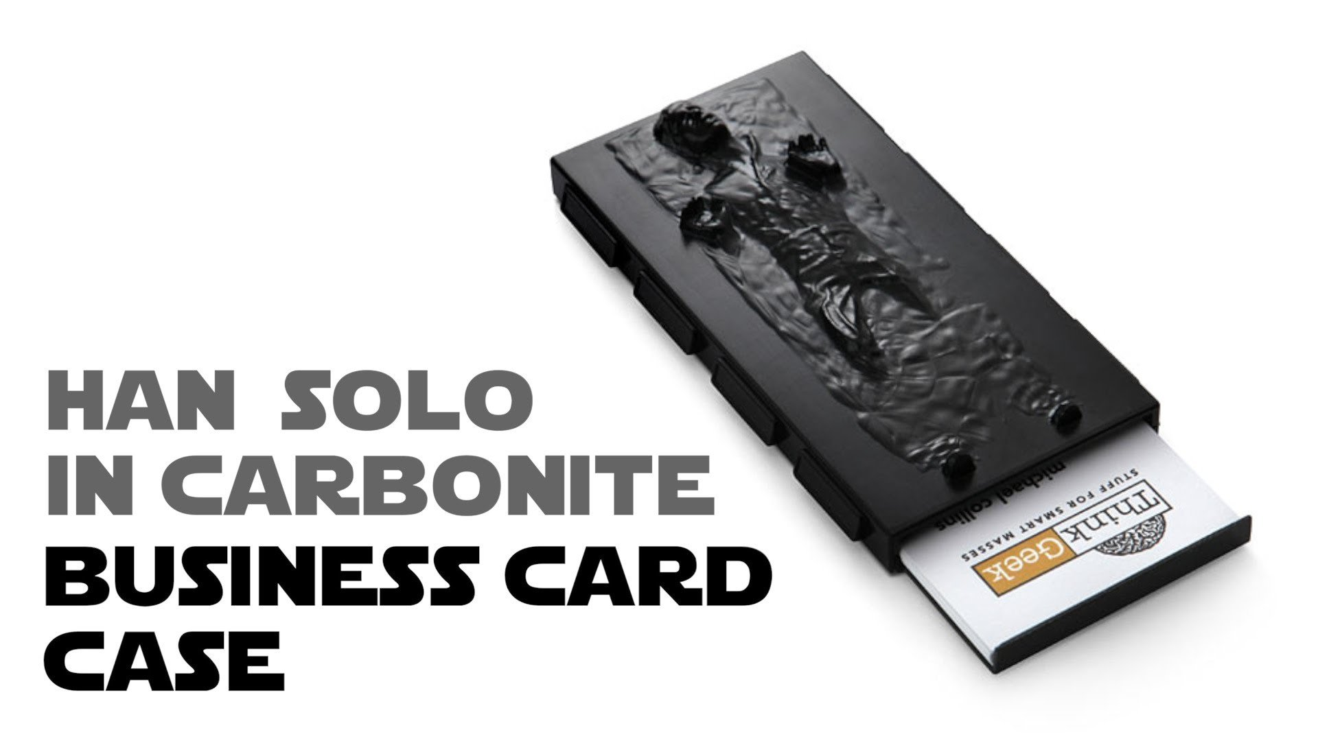 Han Solo in Carbonite Business Card Holder